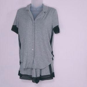 Victoria's secret sleepwear set with lace